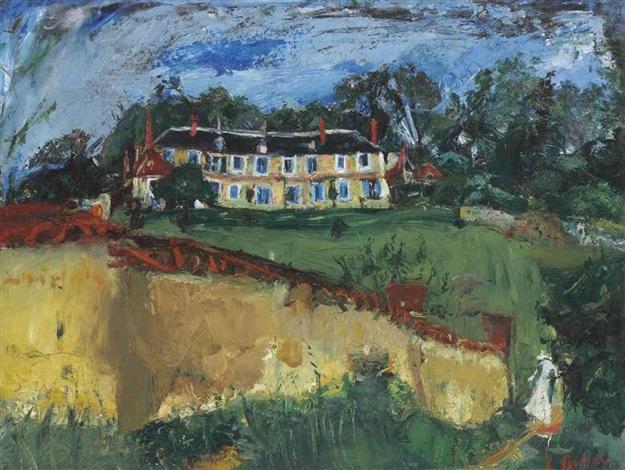 vieille maison aux environs de chartres by chaïm soutine