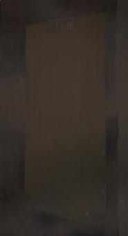 brown door (the electric chair) by christian marclay