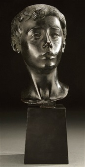 head of a boy by attilio piccirilli