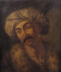 a portrait of an ottoman gentleman by gaetano lapis