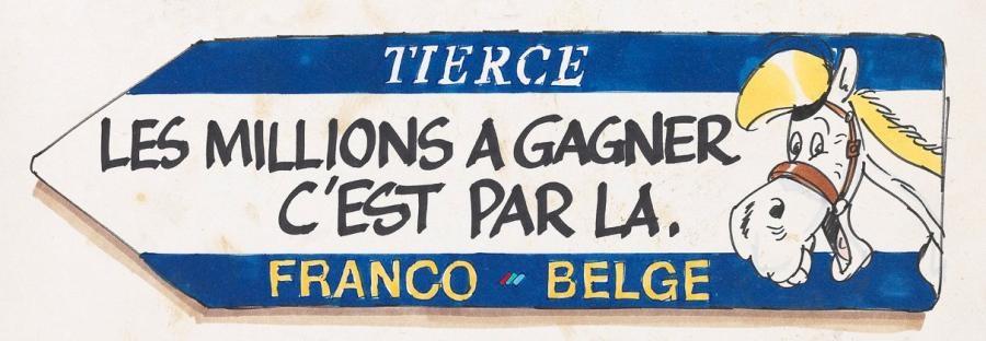 lucky luke, tiercé franco-belge by morris
