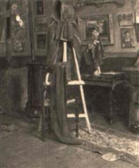 coin de mon atelier by edward grenet
