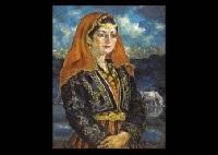 turkish girl by hiroshi mano