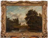 marshalls house, romford, the property of rowland stevenson by patrick nasmyth