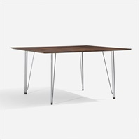 dining table by arne jacobsen