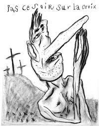 pas ce soir sur la croix by frederic pajak