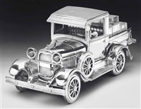 jim beam-model a ford pick-up truck by jeff koons