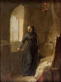 ikkunan luona by mikhail petrovich (baron) klodt von jurgensburg