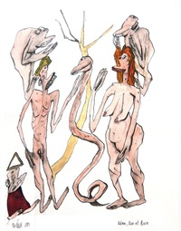 adam, eve et rien by frederic pajak