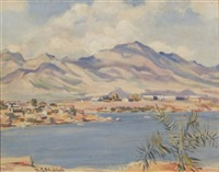 costal view by ruth a. (temple) anderson