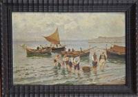 retour de pêche by emmanuele costa