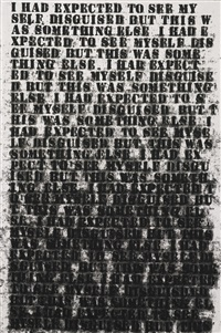 black like me #3 by glenn ligon
