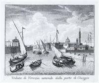 teatro delle fabriche piu cospicue in prospetiva della citta di venezia by francesco zucchi