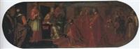 udienza pontificia a un ambasciatore veneziano by matteo ponzoni