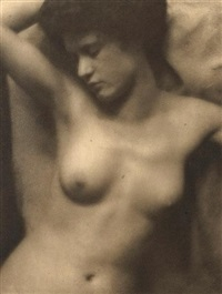 torso ( from camera works) by clarence h. white and alfred stieglitz