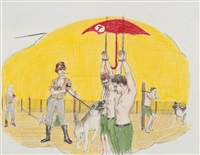 untitled (study for the women in the wilderness) by jim shaw