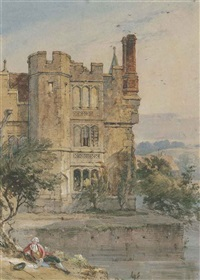 hever castle, kent by charles tattershall dodd the elder