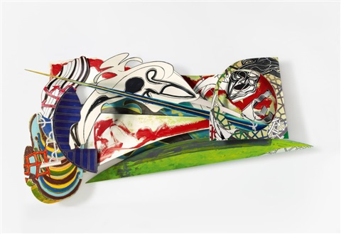 the chase. second day by frank stella