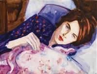evan with the flu by elizabeth peyton