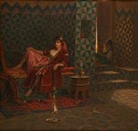 scène de harem by jan baptist huysmans
