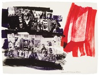 marmont flair (illegal tender l.a. series) by robert rauschenberg