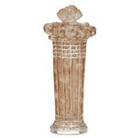 flacon panier de roses by rené lalique