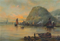 dunbarton rock by samuel bough