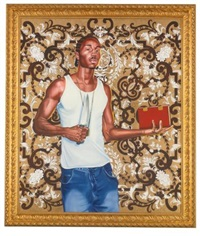 passing/possing #3 by kehinde wiley