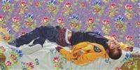 femme piquée par un serpent ii by kehinde wiley