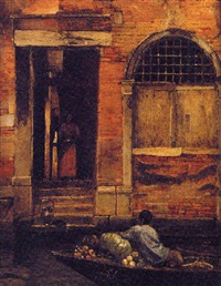 venetian doorway by william graham
