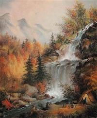 muskoka falls by alfred worsley holdstock