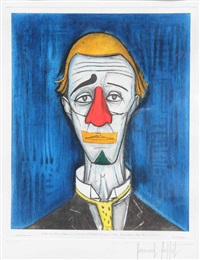 le clown by bernard buffet
