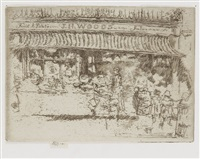 woods' fruit shop, chelsea by james abbott mcneill whistler