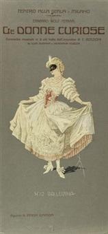 figurini teatrali per le donne curiose (20 works) by pipein gamba