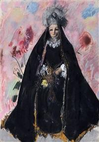 schwarze madonna by otto herbig