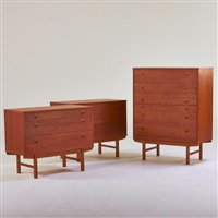 dressers (3 works) by folke ohlsson