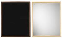 i. black mirror: 12 ii. silver mirror: 10 (2 works) by sherrie levine