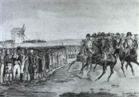 uebergabe der festung valenciennes and feldmarschall herzog von york by victor (count) odeschalchi