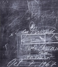 invitation by cy twombly