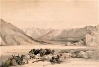 egipto y nubia (3 works) by david roberts