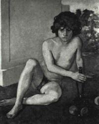 bacchus resting by milet andrejevic