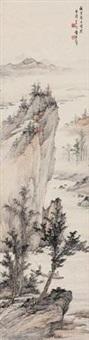 赤壁泛舟 by huang junbi