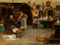 beim antiquitätenhändler by cesare vianello