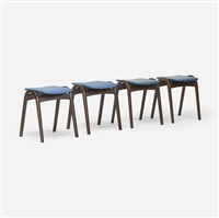 stools (set of 4) by isamu kenmochi