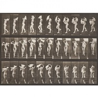 two collotypes from animal locomotion, plate 3 and 133 by eadweard muybridge