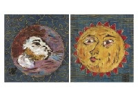 sun and northern wind (2 works) by sumio kawakami