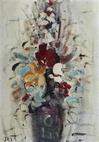 vaso con fiori by alvaro danti