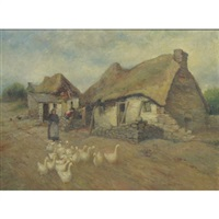 a hut in bantry by henry hammond ahl