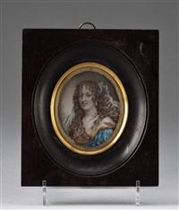 portrait von marie de robatin de sévigné by antoine vestier