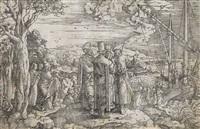 predigt christi auf dem schiff by jan swart van groningen